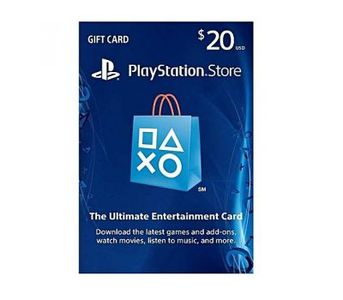 $20 PlayStation Store Gift Card - PS3/ PS4/ PS Vita (USA)