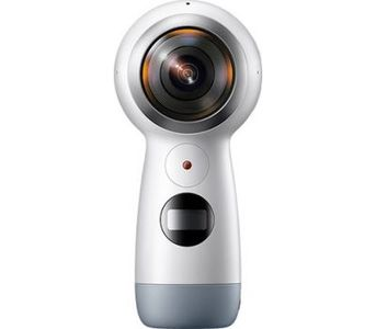 Samsung Gear 360 2017 - 4K Spherical VR Camera, White