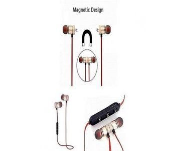 Magnetic Wireless Bluetooth Headphones Sports Sound Stereo Penetrating Bass Earphones / Headphone...