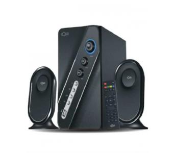 "Loud Rythem 3 Bluetooth Wireless Speaker with 4\"" Super Bass Subwoofers - Black"