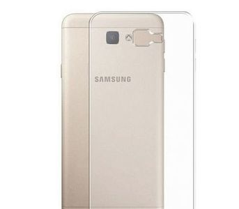 Fitoos Samsung Galaxy J7 Prime Jelly Back Cover - Transparent