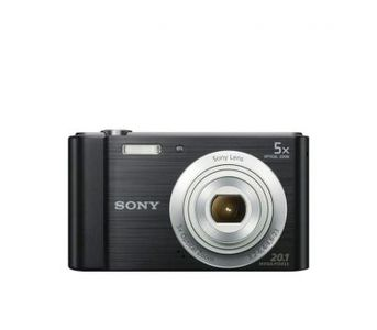 SONY - DSC-W800 - 20.1 MP - Compact Camera with 5x Optical Zoom - Black