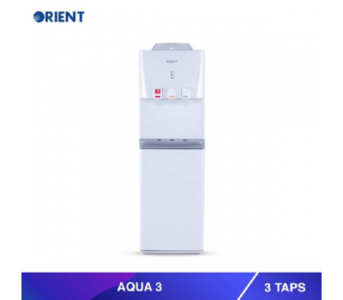 Mehran Electronics -Karachi Orient Aqua 3 Snow White Water Dispenser - 3 Taps
