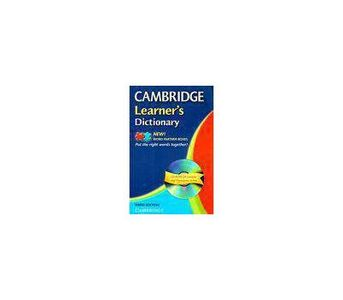 CAMBRIDGE LEARNERS DICTIONARY WITH CD BY : CUP