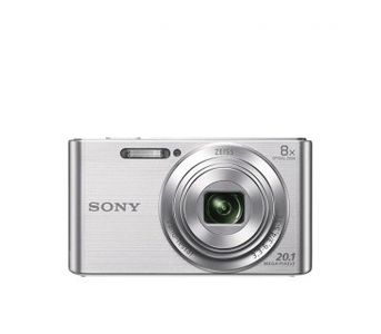 SONY - DSC-W830 - 20.1 MP - Compact Camera with 8x Optical Zoom - Silver