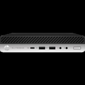 Hp Elitedesk 800 G4 Mini - Ci7 8th Gen 4GB 1TB Intel Q370 Keyboard / Mouse (1 Year Card Warranty)