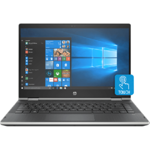 HP Pavilion 14 CD0016TX x360 - 8th Gen Ci5 08GB 1TB 14 HD 720p 2GB Nvidia MX130 Touchscreen Convertible Win 10 Backlit KB B&O Play (Natural Silver  HP Direct Warranty)