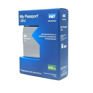 Western Digital Portable External Hard Drive WD ULTRA 500GB