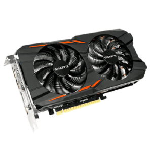 Gigabyte Nvidia Geforce GTX 1050TI WindForce 4GB GDDR5 Graphic Card OC Edition (GV-N105TW2OC-4GD)