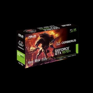 ASUS Cerberus GeForce GTX 1070TI 8GB GDDR5 Graphic Card