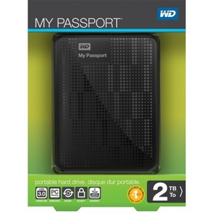 Western Digital Portable External Hard Drive WD MY PASSPORT  2TB