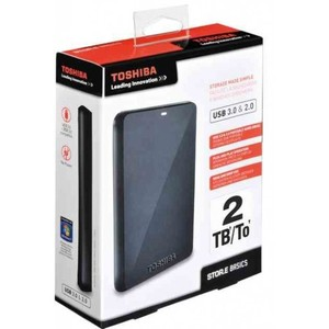 Toshiba Portable External Hard Drive Cloud 2TB