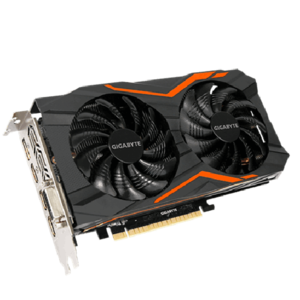 Gigabyte Nvidia Geforce GTX 1050TI G1 Gaming 4GB GDDR5 Graphic Card (GV-N105TG1-GAMING-4GD)
