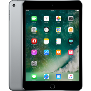 Apple iPad Mini 4 - 128GB 8MP Camera (7.9) Retina display Wi-Fi (Silver/Grey)