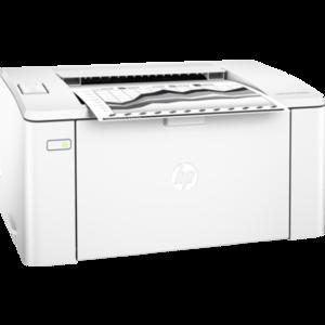 HP Laser jet Pro M102W Wireless Printer (Card Warranty)