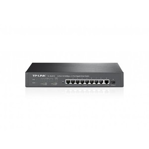 TP-Link TL-SL2210 8-Port 10/100Mbps + 2-Port Gigabit Smart Switch