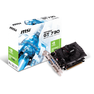 MSI Nvidia GT 730 2GB DDR3 Graphic Card