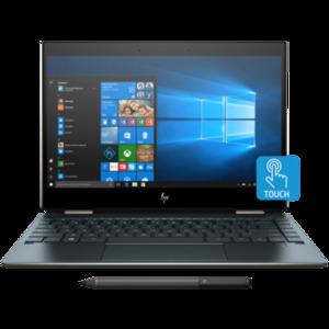 HP Spectre x360 Convertible 13 AP0081TU Whiskey Lake Microarchitecture - 8th Gen Ci7 QuadCore 08GB 512GB SSD 13.3 Full HD 1080p Touchscreen Convertible Backlit KB B&O Play W10 (Poseidon Blue  HP Direct Local Warranty)