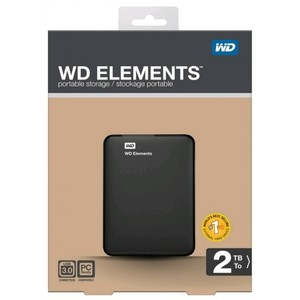 Western Digital Portable External Hard Drive WD ELEMENT 2TB