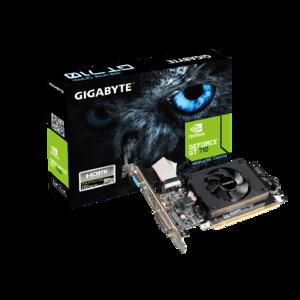 GigaByte Nvidia GT 710 1GB GDDR3 Graphic Card