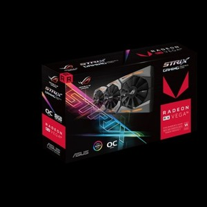 ASUS ROG Strix RX VEGA56 OC Edition With Aura Sync RGB 8GB HBM2 Graphic Card