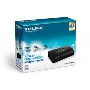 TP-Link TD-8817 1-port ADSL2 + Ethernet/USB Modem Router