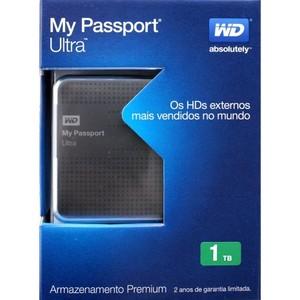 Western Digital Portable External Hard Drive WD ULTRA 1TB