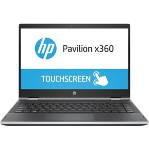 HP Pavilion 14 CD1010TU X360 - 8th Gen Ci3 04GB 500GB 14 HD AG LED SVA wHDC slim WIn10 Home TouchScreen (Natural Silver  HP Direct Local Warranty)