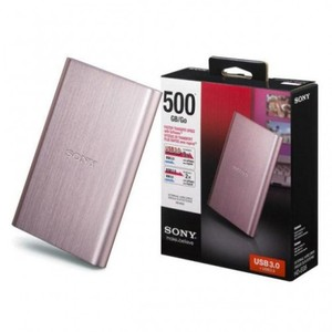 Sony Portable External Hard Drive 500GB HD-EG5