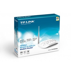 TP-Link TD-W8951ND 150Mbps Wireless N ADSL2 + Modem Router