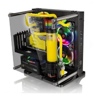 Thermaltake Core P1 TG Mini ITX Wall-Mount Chassis Without PSU