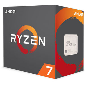 AMD Ryzen 7 2700X 3.7 GHz Eight-Core AM4 Processor with Wraith Prism LED Cooler