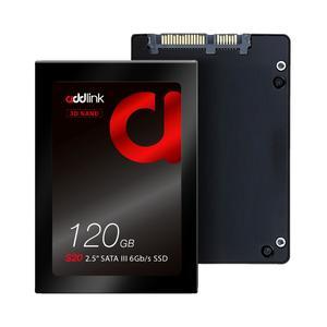 addlink S20 120GB SSD 3D NAND SATA III 6Gb/s 2.5-inch/7mm Internal Solid State Drive (3D NAND 120GB)