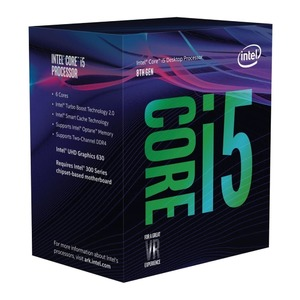 Intel Core i5 8400 Coffee Lake Hex Core LGA 1151-2 2.80 GHz CPU Processor (BX80684I58400)