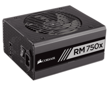 Corsair RMx Series™ RM750x — 750 Watt 80 PLUS® Gold Certified Fully Modular PSU (UK) (CP-9020092-UK)