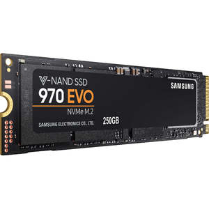 Samsung 970 EVO 250GB NVMe M.2 Internal SSD