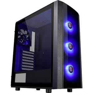 Thermaltake Versa J25 Tempered Glass RGB Edition Mid-Tower Chassis