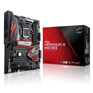 ASUS Republic of Gamers Maximus X Hero LGA 1151-2 (300 Series) Z370 ATX Motherboard