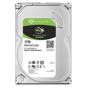 Seagate 1TB BarraCuda SATA 6Gb/s 7200 RPM 64MB Cache 3.5 Inch Desktop Hard Drive