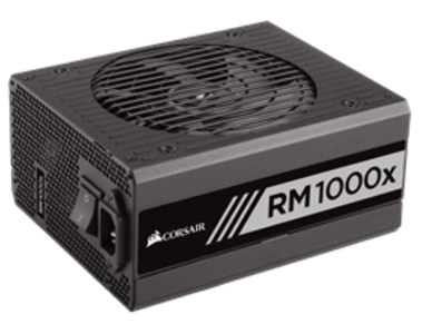 CORSAIR RMx Series™ RM1000x — 1000 Watt 80 PLUS® Gold Certified Fully Modular PSU (UK)