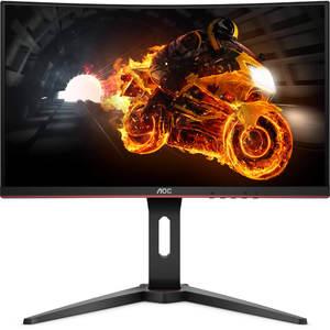 AOC C24G1 24″ Curved Frameless 144 Hz FreeSync Gaming Monitor