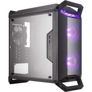 Cooler Master MasterBox Q300P Mini Tower Transparent Acrylic Side Panel Case