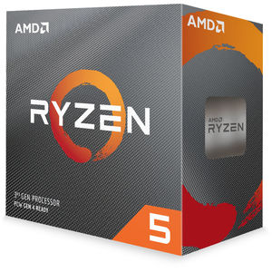 AMD RYZEN 5 3600 3.6 GHz (4.2 GHz Max Boost) Six-Core AM4 Processor with Wraith Spire Cooler