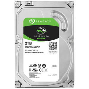 Seagate 2TB BarraCuda SATA 6Gb/s 7200 RPM 64MB Cache 3.5 Inch Desktop Hard Drive