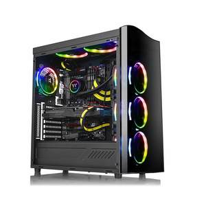 Thermaltake View 22 Tempered Glass SPCC ATX Modular Gaming Mid Tower Computer Case