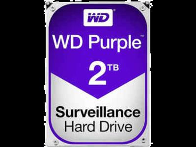 Western Digital Purple 2TB Surveillance Hard Disk Drive – 5400 RPM SATA 6Gb/s 64MB Cache 3.5 Inch – (WD20PURX)