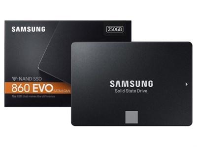 SAMSUNG 860 EVO SERIES 250GB SOLID STATE DRIVE 2.5 V-NAND SSD - MZ-76E250BW - SATA |||
