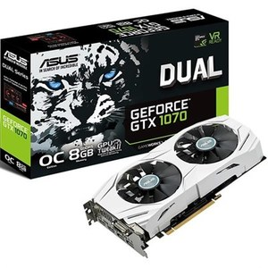 Asus DUAL-GTX1070-O8G NVIDIA GeForce GTX 1070 Video Graphics Card