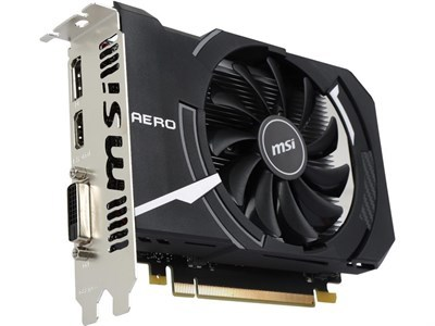 Msi GeForce | Gtx 1050 2GB | Aero ITX | 128-Bit GDDR5 | Graphic Card