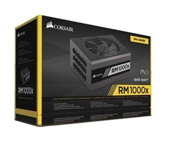 Corsair | RMx Series | RM1000x 1000 Watt 80 PLUS | Gold Certified